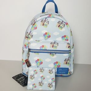 NWT Loungefly Pixar Up Adventure Mini Backpack Set